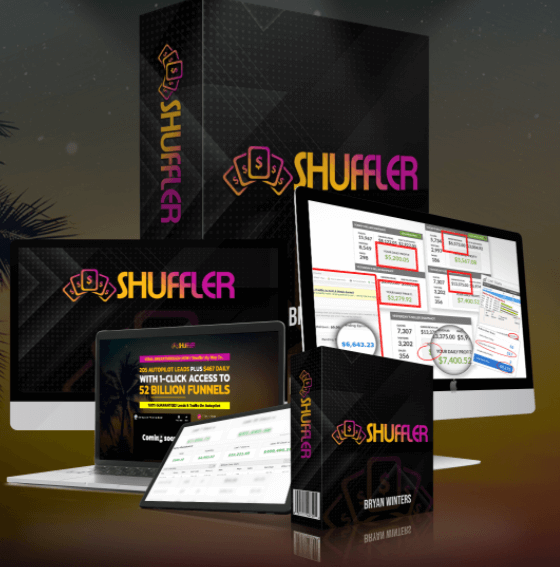 Bryan Winters Shuffler review  and bonus $1617 Special Launch Discount Price $17